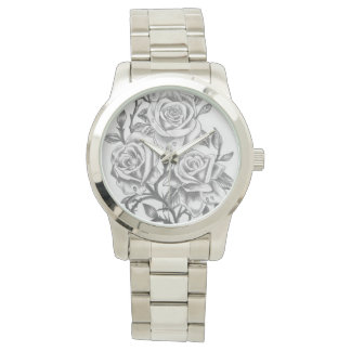 custom time to smell the roses watch
