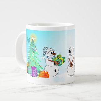 Custom 'Tis The Season Of Giving, Loving Large Coffee Mug