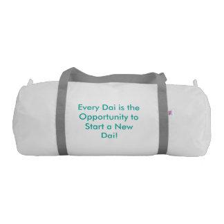 Custom ToDai's Wellness Duffle Gym Bag Gym Duffel Bag