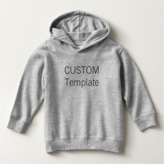 Custom Toddler Pullover Hoodie Blank Template