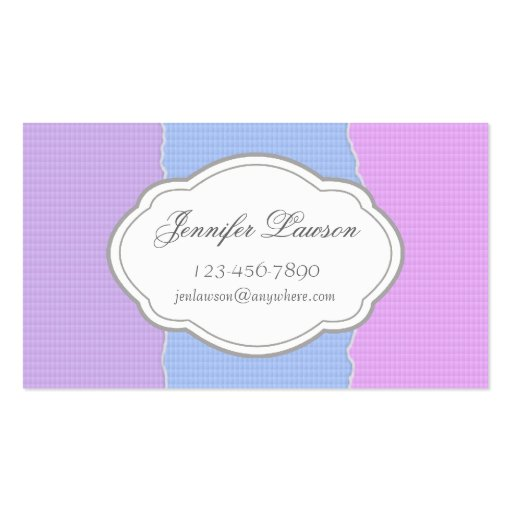 Custom Torn Paper Business Card Template