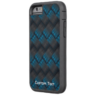 Custom Tough Carbon Fibre Weave Texture Tough Xtreme iPhone 6 Case