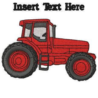 Custom Tractor Embroidered Shirt