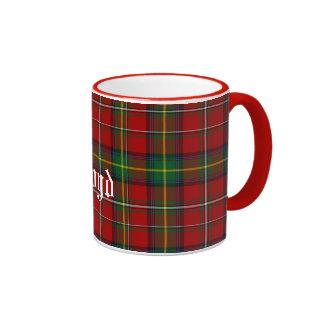 Custom Traditional Boyd Tartan Plaid Ringer Mug