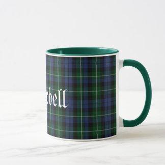 Custom Traditional Campbell Tartan Plaid Mug