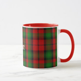 Custom Traditional Kerr Tartan Plaid Mug