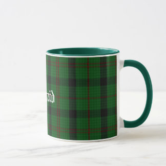 Custom Traditional Kincaid Tartan Plaid Mug