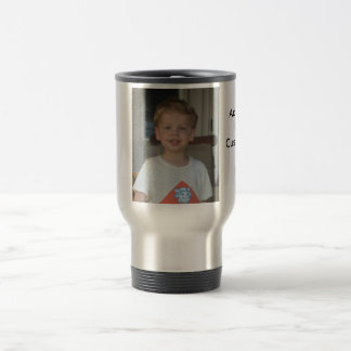 Custom Travel Mug With Picture and Text
