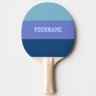 Custom Tri-Color ping pong paddle