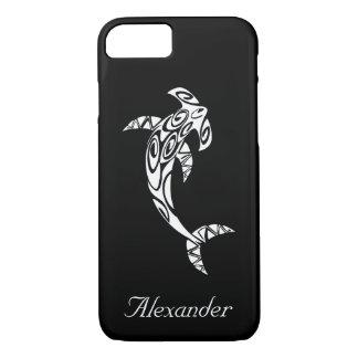 Custom Tribal Hammerhead Shark Illustration iPhone 8/7 Case