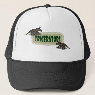 Custom Triceratops dinosaur Trucker Hat