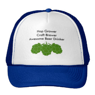 Custom Trucker hat for the home brewer