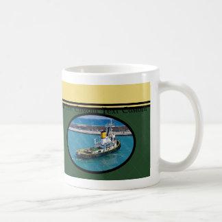 Custom Tug Boat Captain Mug