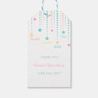 Custom Twinkle Twinkle Little Star Favor Tags