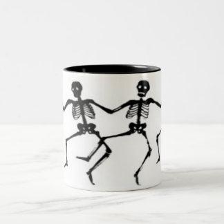 Custom, two tone, mug, black inside, white outside Two-Tone coffee mug
