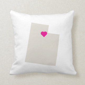 Custom Utah State Love Reversible Pillow