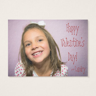 Custom Valentine for Kids With Word Search