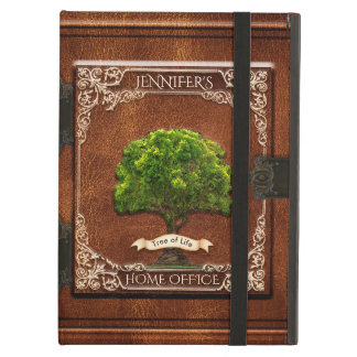 Custom Vintage Antique Old Leather Book Look iPad Air Cover
