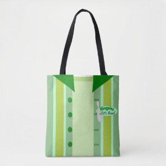 Custom Vintage Bowler Style Tote Bag