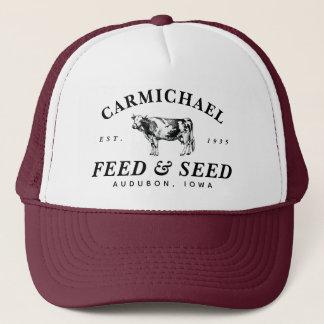 Custom Vintage Farmhouse Style Feed Trucker Hat