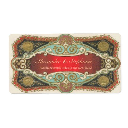 Custom Vintage Wine or Craft Label