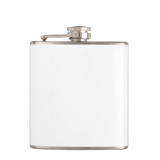 Custom Vinyl Wrapped Flask - 6oz.