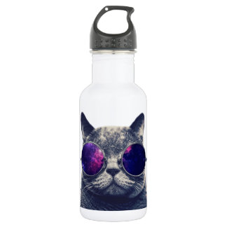 Custom Water Bottle (18 oz), White