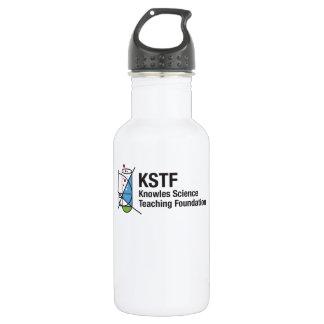 Custom Water Bottle (18 oz), White - KSTF 532 Ml Water Bottle