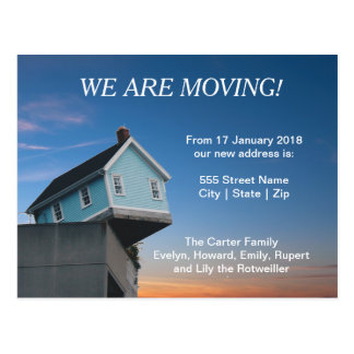 "Custom ""We are Moving"" 