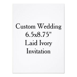 Custom Wedding 17 Cm X 22 Cm Invitation Card