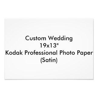 """Custom Wedding 19x13""""  Kodak Pro Photo Paper Satin"""