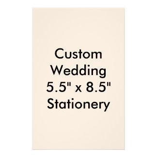 """Custom Wedding 5.5"""" x 8.5"""" Stationery Letterhead"""