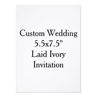 "Custom Wedding Bachelor Party Invitation 5.5"" X 7.5"" Invitation Card"