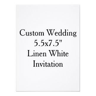 "Custom Wedding Bridal Shower Invitations 5.5"" X 7.5"" Invitation Card"