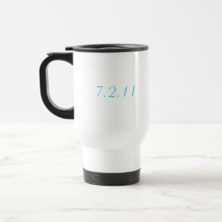 Custom Wedding Date Mug