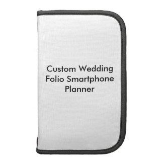 Custom Wedding Folio Smartphone Planner