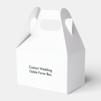 Custom Wedding Gable Favor Box Wedding Favour Box
