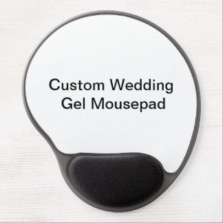 Custom Wedding  Gel Mousepad