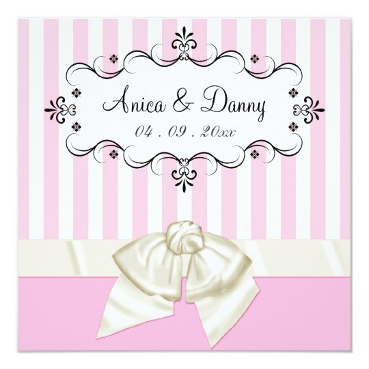 Custom Wedding Invitations - for Anica & Danny
