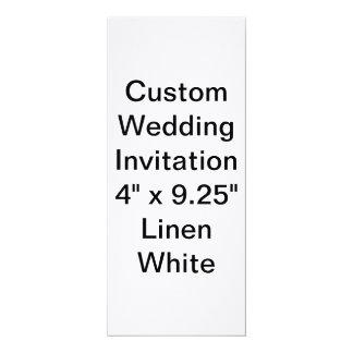 Custom Wedding Linen Invitation to personalize