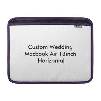 Custom Wedding Macbook Air 13 inch Template MacBook Sleeve
