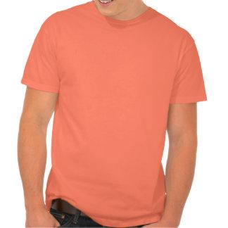 Custom Wedding Men's Hanes Nano T-Shirt, Orange Shirt