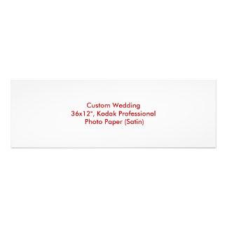 Custom Wedding Photo Print Blank Design Template