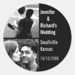 Custom Wedding Sticker