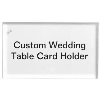 Custom Wedding Table Card Holder