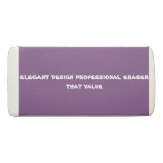 custom wedge eraser  eraser