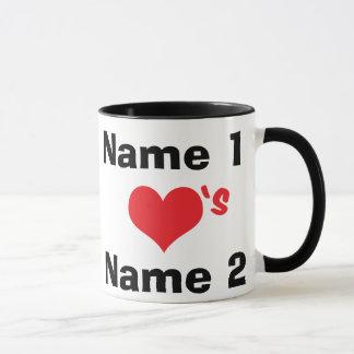 Custom We're In Love Mug