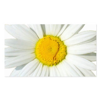Custom White Daisy Wedding Gift Registry Cards Business Card Template