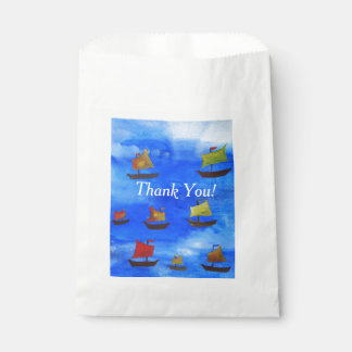 Custom White Favor Bag