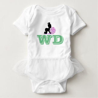 Custom Wing Defence Netball Player Position Baby Bodysuit
